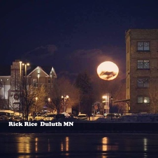 Full Moon in Canal Park Image by Rick Rice