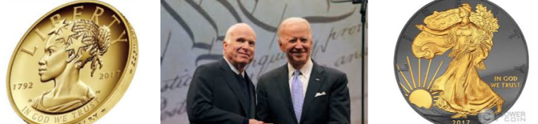 Liberty Medal 2017 presented to Senator John McCain by former Vice President and Dear Friend Joe Biden October 16,2017