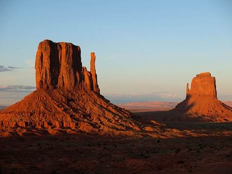 Monument Rock in Monument Valley Arizona