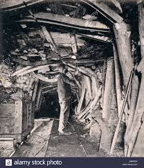 A miner working in the shaft of a coal mine via Google Images