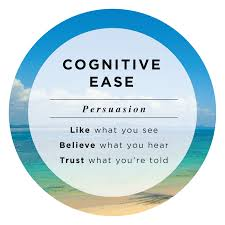 GRAPHIC IMAGE OF COGNITIVE EASE GOOGLE IMAGES
