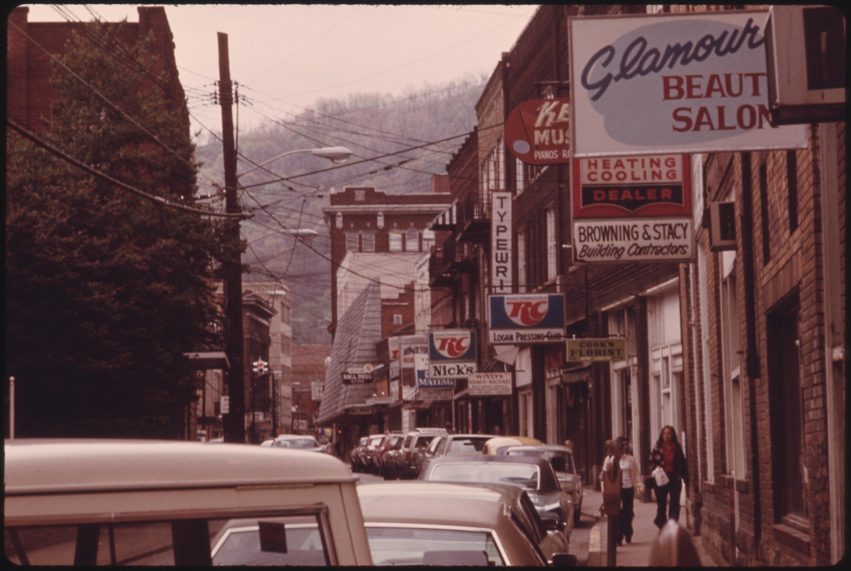 Downtown Logan WV Google Images CCL