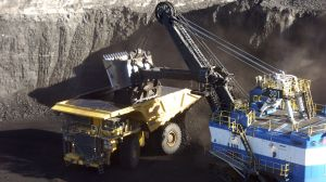 Rio Tinto Mine, Australia Nov 15, 2016. Loading a 416 ton self-driving truck Google Images CCL