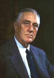 Franklin Roosevelt, three term President of the United States of America Google Images