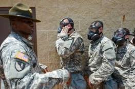 Entering Building for Gas Mask Drill Google Images