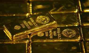 Gold Bullion The Guardian April 7,2018. Photo: Siphiwe Sibeko/Reuters