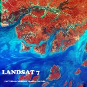 Patterns of Shallow Coastal Waters of Guinea-Bissau NASA