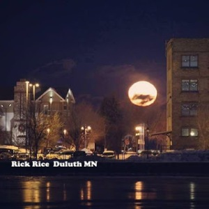 Moonglow over Canal Park Duluth MN 2017 Image by Rick Rice