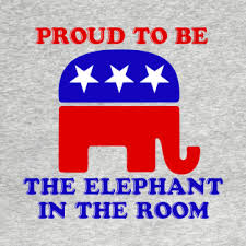 Proud to be the Elephant in the Room Google Images