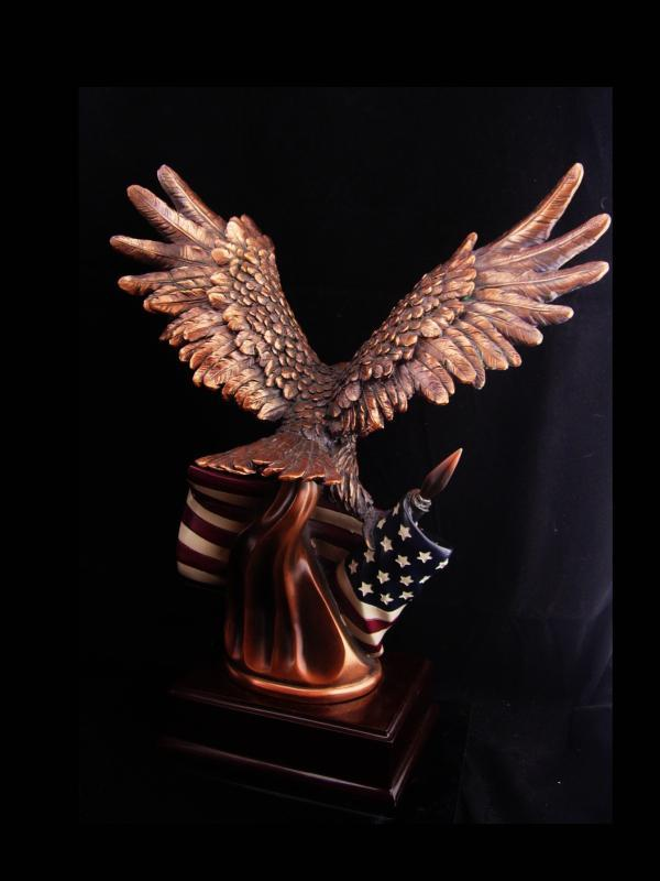 Antique eagle and flag. Facing the correct direction to render its opinion of Trump Google Images