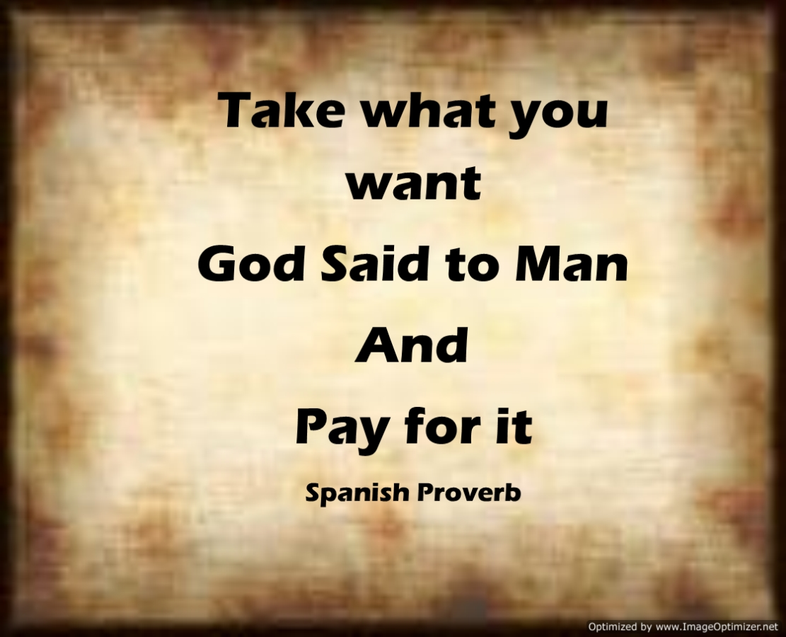 Take What You Want God Said to Man and Pay for it MS Publisher Craig