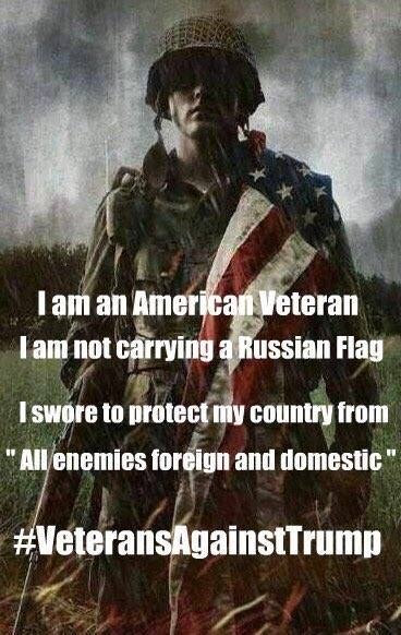 Image of an American Veteran Facebook image