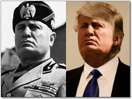 Trump and Moussilini Image from Google Images