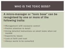 recognizing the toxic boss google images