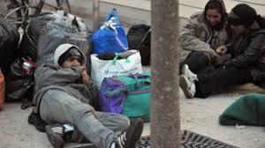 Homeless Veterans Image Disable American Vets magazine
