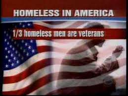 Homeless In America - 1/3 fo homeless men are Veterans Disabled American Veterans Magazine