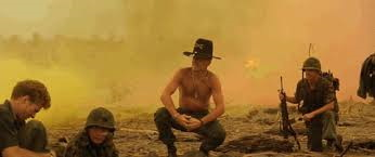 DUVALL AS THE SURFING COLONEL 'I love the smell of napalm in the morning