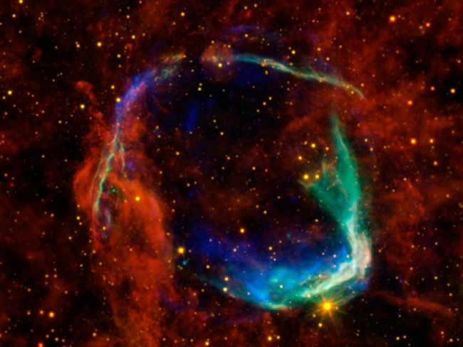 RCW 86 This is the first supernova observed by NASA/ESA/JPL
