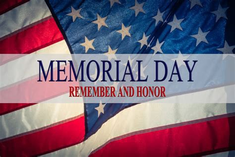Memorial Day Remember and Honor Google Images